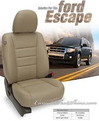 2008 ford escape seat covers 2001 2008 ford escape leather upholstery