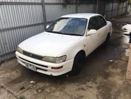 wanted toyota corolla toyota corolla buy and used cars in melton area vic cars