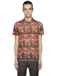 Big Men Clothing Stores Etro Outlet Store Las Vegas Etro Psychedelic Linen Jersey Polo