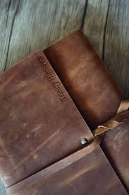 custom leather photo album photo album custom leather album rustic memory leather