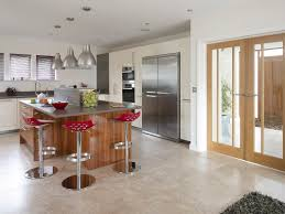 small modern open plan kitchen