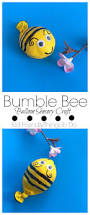 a bumble bee balloon fidget sensory craft for kids bumble bees