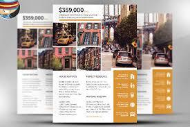 indesign real estate flyer templates real estate agent realtor