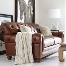 Shop Sofas And Loveseats Leather Couch Ethan Allen - Leather chairs living room