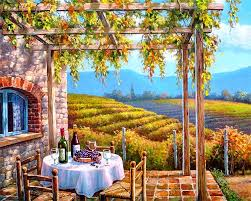 online buy wholesale oil painting vineyard from china oil painting