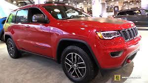 jeep compass trailhawk interior 2017 jeep grand cherokee trail hawk exterior and interior