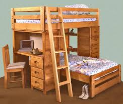 Bunk Bed Options Trendwood Bunkhouse Bronco Loft Bed With Built In Desk
