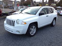 jeep compass white 2007 jeep compass 4x4 sport 4dr suv in seattle wa sport motive