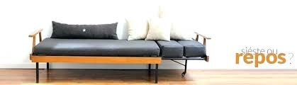 canape de repos canape convertible retro canape lit vintage sofa daybed et lit de