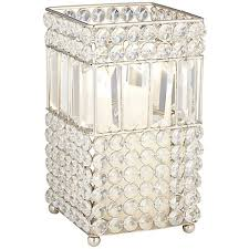 Crystal Candle Sconce Marilu Silver Mirrored Crystal Candle Holder 8j432 Lamps Plus