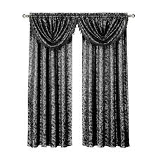 Gray Valance Brown Window Scarves U0026 Valances Window Treatments The Home Depot