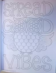 good vibes coloring book coloring is fun thaneeya mcardle