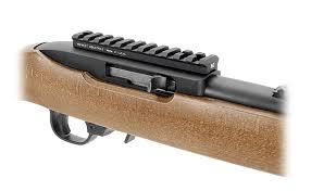 ruger 10 22 light mount mi 1022sm blk br ruger 10 22 scope mount black