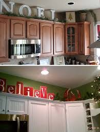 How To Decorate Above Cabinets by 20 Stylish And Budget Friendly Ways To Decorate Above Kitchen