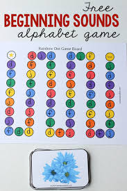 Printable Alphabet Recognition Games | free letters and sounds game the measured mom
