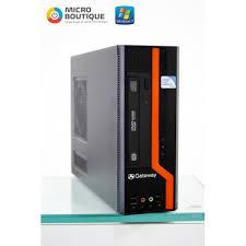 ordinateur de bureau sans unité centrale promotion unité centrale gateway micro boutique