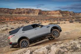 land rover discovery off road 2017 land rover discovery release date price and specs roadshow