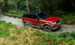 lifted land rover sport 2018 range rover sport photos and info news car and driver