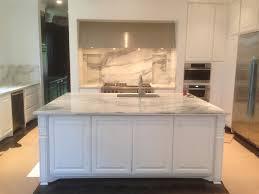 marble backsplash kitchen white carrara marble backsplash sleek white wooden kitchen set