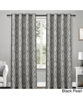 Blue And Grey Curtains It U0027s On Cyber Monday Deals On Geometric Curtain Panels