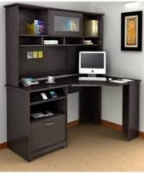 Corner Computer Desk With Shelves Corner Computer Desk With Hutch For Home Foter