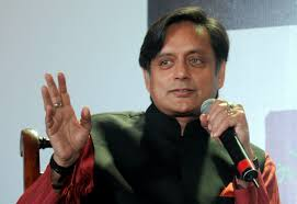 shashi tharoor lashes out at interviewer says the british should