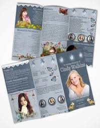 20 best funeral brochures images on pinterest templates