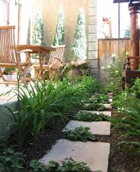 urban tuscan style garden and landscaping design portfolio by