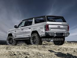 jeep icon concept 4 door 2020 ford bronco concept isn u0027t real still awesome