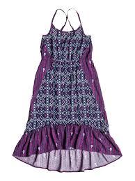 girls 7 14 big always sunny maxi dress rrh58087 roxy