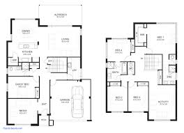 Small Floor Plans Best Modern 2 Story House Plans Small Floor