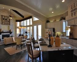 Small Open Floor Plan Kitchen Living Room 19 Best Open Concept Living Images On Pinterest Home Open Floor