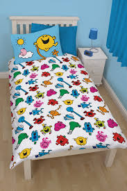 Amazon Duvet Sets Mr Men And Little Miss Village Single Panel Duvet Set Amazon Co