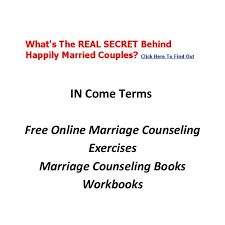 Free Marriage Counseling Worksheets by Marriage Counseling Questions Pdf