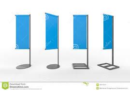 Flag Displays Set Of Blue Blank Banner Japanese Flag Display With Aluminum Fr