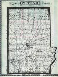 County Map Of Indiana Maps Of Putnam County Cemeteries