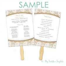 Wedding Party Program Template How To Design Wedding Program Template 30 Wedding Program Design
