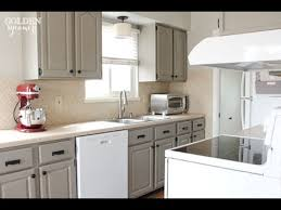 Chalk Paint Kitchen Cabinets YouTube - White chalk paint kitchen cabinets