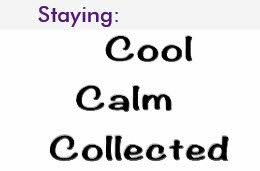 calm cool collected calm cool collected t shirts shirt designs zazzle