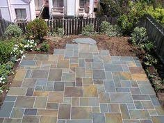 irregular flagstone bay area bluestone provides unique