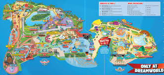 Worlds Of Fun Map by Dreamworld Theme Park Gold Coast Tickets In Queensland Lonely Planet