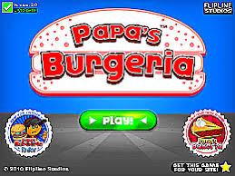 jeux de cuisine papa s papa s burgeria un des jeux en ligne gratuit sur jeux jeu fr