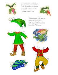 happy elves paper dolls pinterest elves dolls and craft