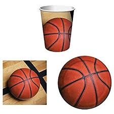 basketball party supplies basketball sports fanatic party supplies tableware
