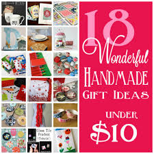 Homemade Gift Ideas by Handmade Gift Ideas Under 10 That People Will Really Want Felt