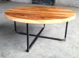 Rustic Metal And Wood Coffee Table Iron Wood Coffee Table Reclaimed Wood Coffee Table With