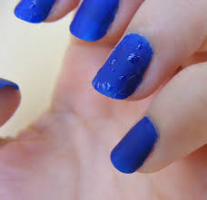 nails of the day notd water drops cosette u0027s beauty pantry