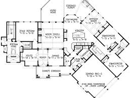 ideas 42 amazing one story house plans with two master