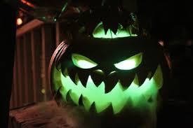 green lantern neon light neon green glowing jack o lantern pictures photos and images for