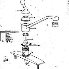 repair leaky kitchen faucet kohler single handle kitchen faucet repair mydts520